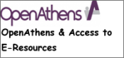 OpenAthens (access to electronic resources)